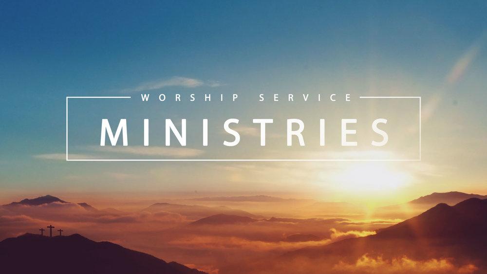Sunday Ministries