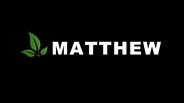 Matthew  April 14, 2019