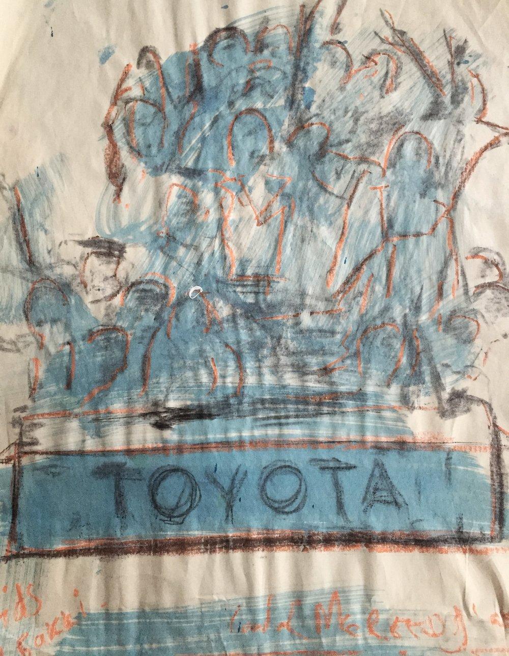 Children In Toyota Bakkie