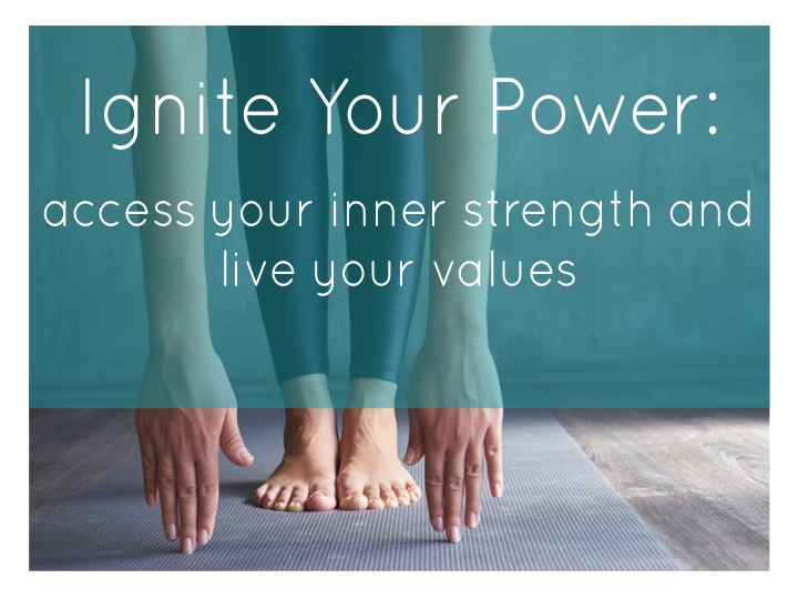 Module 2: Ignite Your Power - Tap into what motivates you and strengthen your confidence in your ability to create impact. We begin with a meditation and yoga practice to turn the focus inward, followed by collaborative writing and exercises to identify the core values that drive you. This will be a supportive experience in empowerment and connection to purpose.