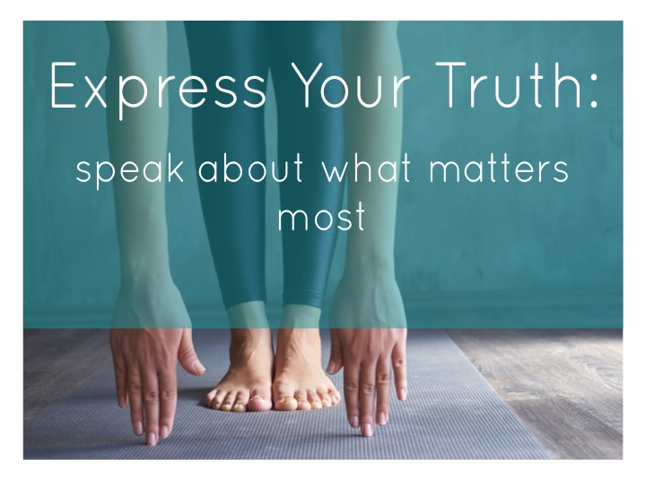 Module 4: Express Your Truth - Tune into what matters to you and strengthen the ability to speak confidently in your truth. We begin with a meditation and yoga practice to connect to our inner voice, followed by journaling and exercises to reframe what holds you back. End the day by creating a personal mantra. This will be a supportive experience in self-expression and personal affirmation.