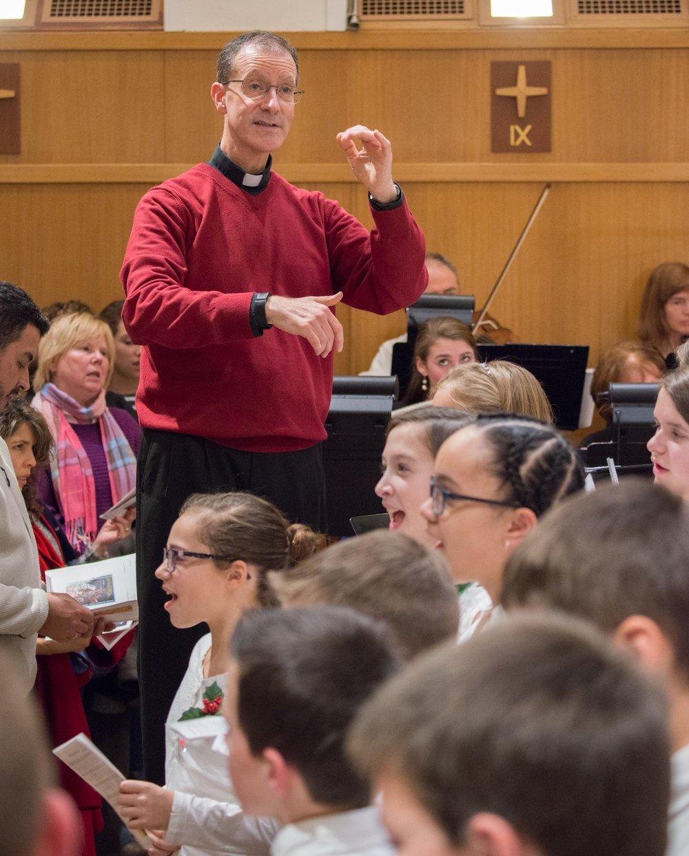 Fr. David Conducting