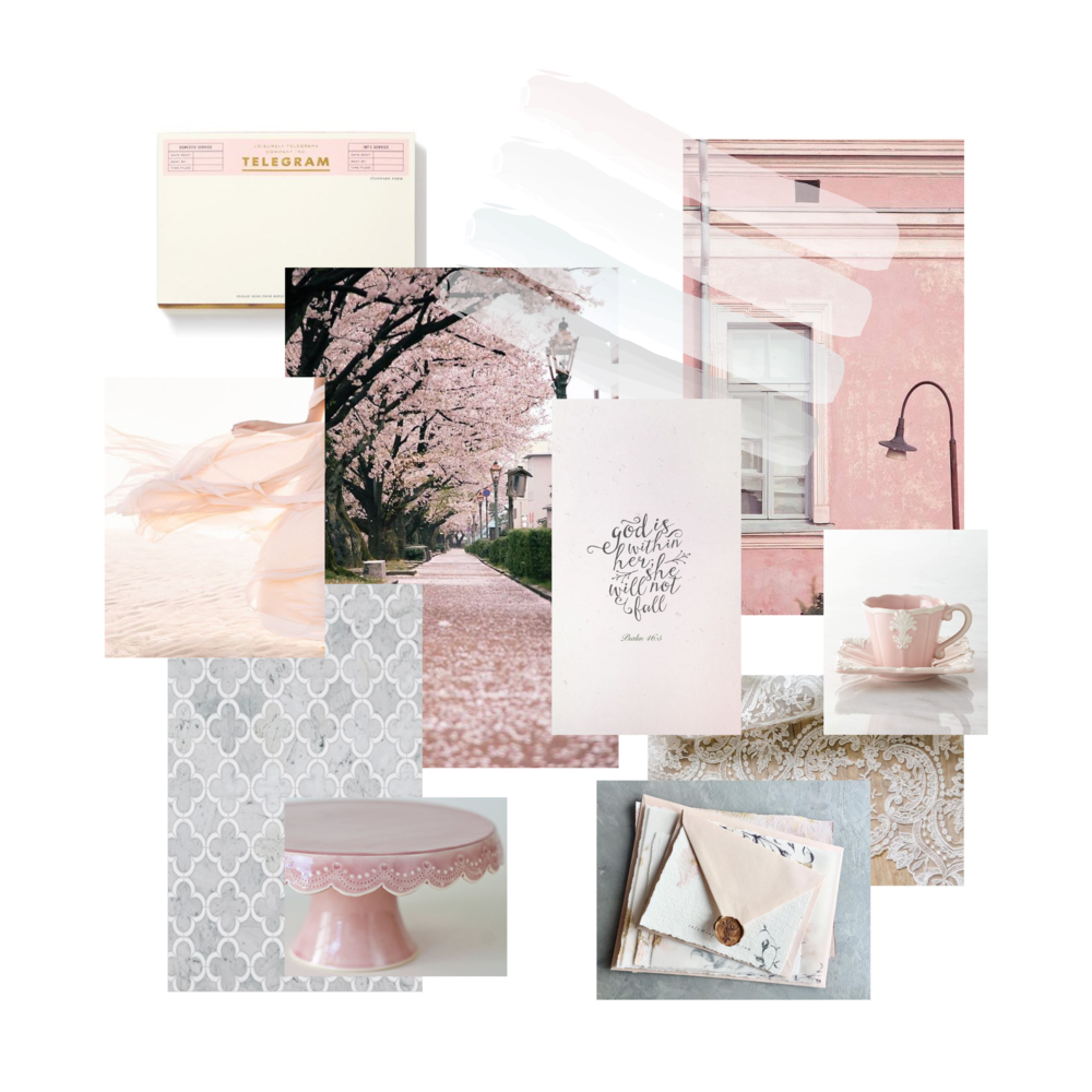 Mallorie Gayle Photography Brand Mood Board