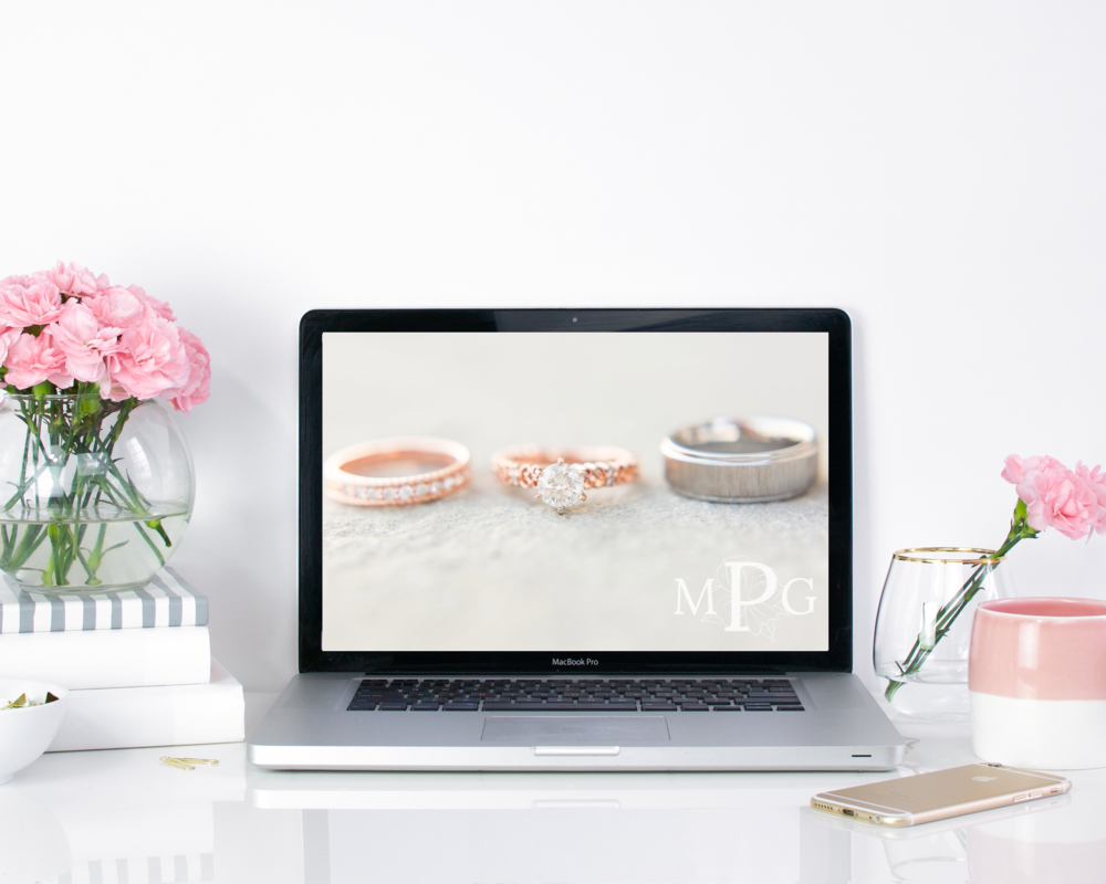 Mallorie Gayle Photography Web Mockup