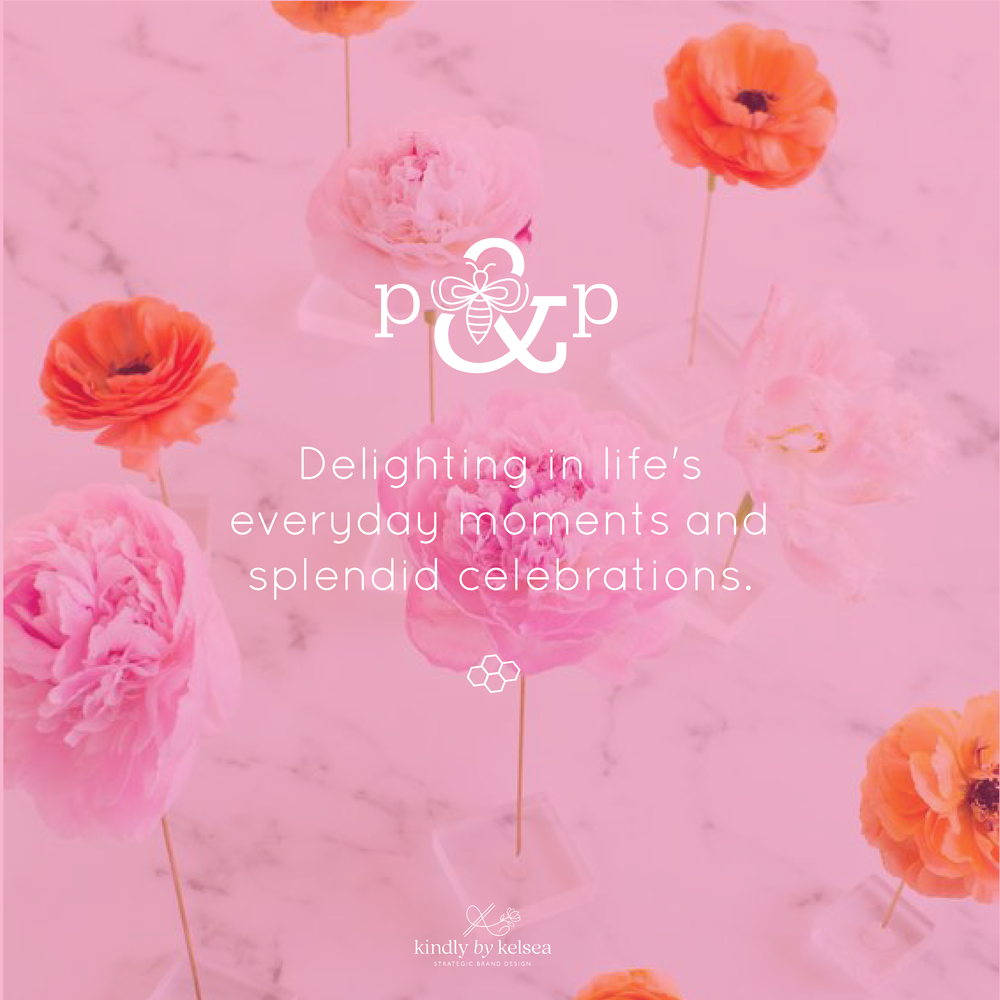 Pomp & Pollen Lifestyle Blogger Branding Reveal by Kindly by Kelsea