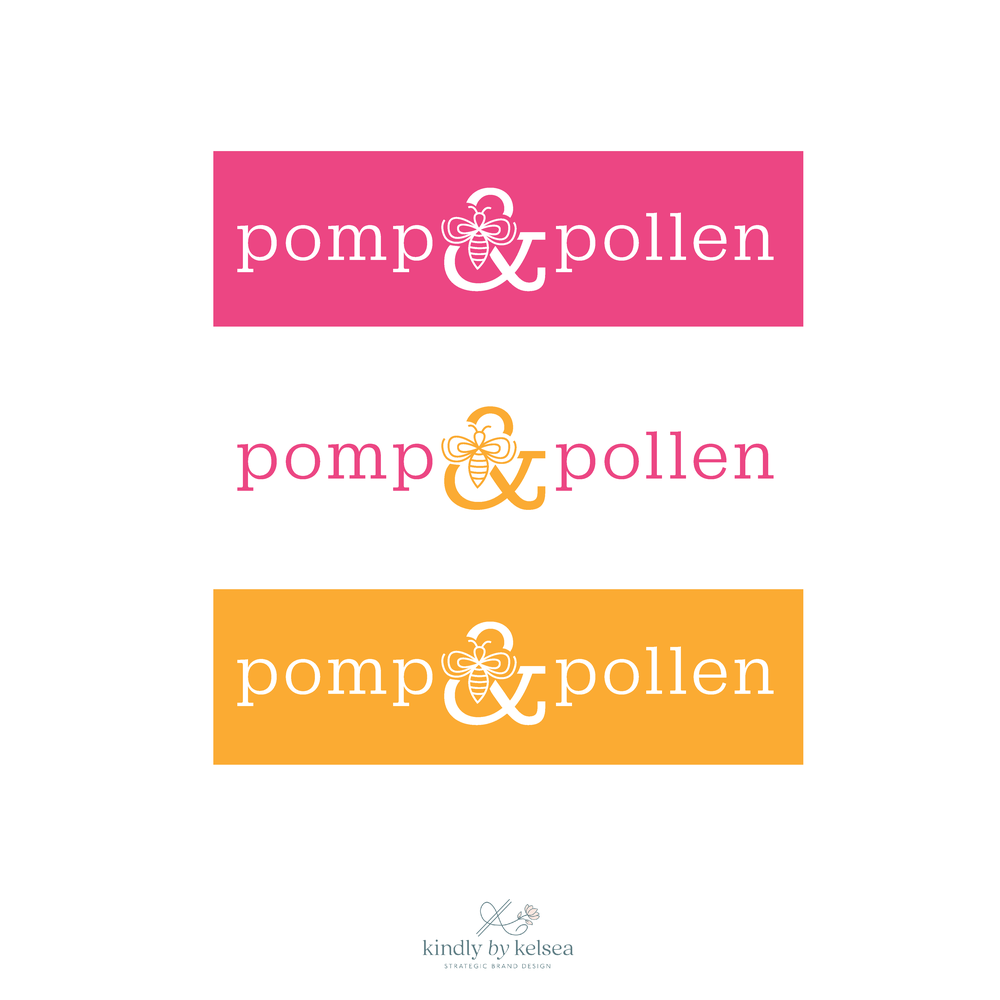Pomp & Pollen Houston Lifestyle Blog Brand Design by Kindly by Kelsea