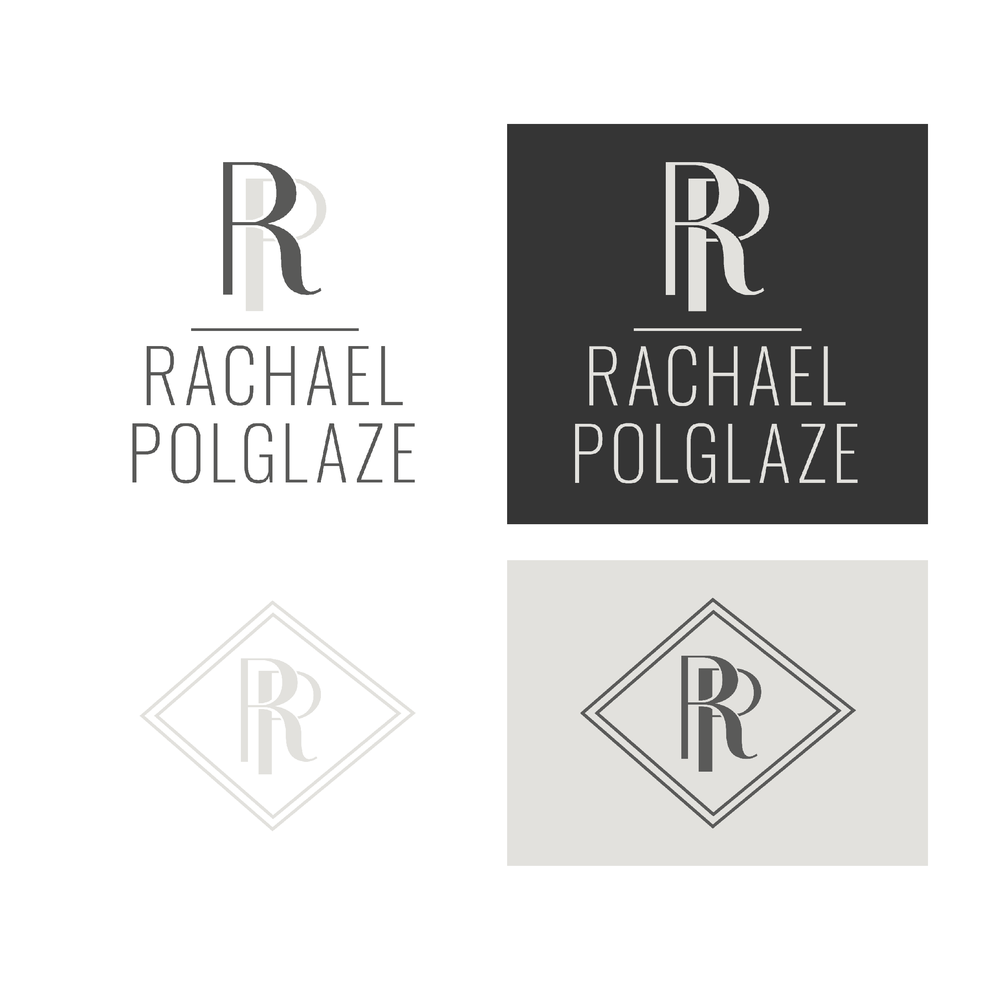 Rachael Polglaze Houston Photographer Brand and Logo Design by Kindly by Kelsea