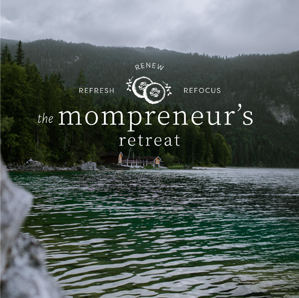 The Houston Mompreneur's Retreat Brand and Logo Design by Kindly by Kelsea