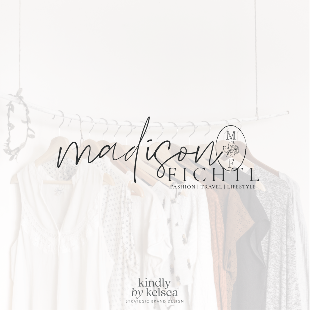 Madison Fichtl Des Moines Iowa Fashion & Lifestyle Blogger | Brand and Logo Design by Kindly by Kelsea