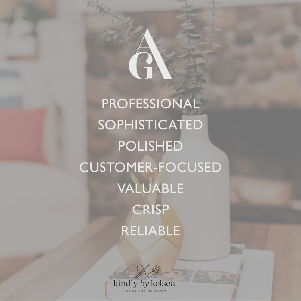 Ashley Guidry Houston Real Estate Agent Brand and Logo Design by Kindly by Kelsea