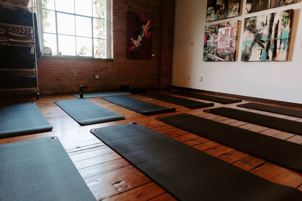 home of stretch + meditation, yin yoga & more - as featured in The Dallas Morning News