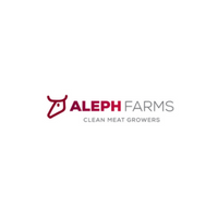 Aleph Farms   At Aleph Farms, we believe meat is one of life's pleasures, to be celebrated and enjoyed without the downsides to health and the environment. Aleph Farms aims to offer superior, healthier, clean beef meat, providing a new customer experience.