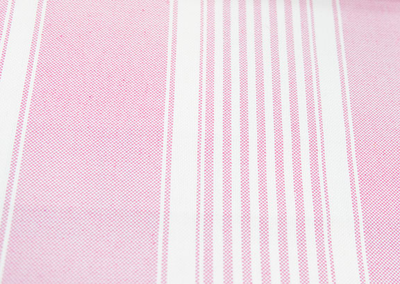 "PACIFIC 18/PINK        60%COTTON/ 40%POLY                                               108""/54"" WIDE             WASHABLE                                              MADE IN ITALY  CURTAIN,  TABLECLOTH,  BED COVER,   UPHOLSTERY"