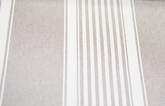 "PACIFIC 25/LINEN        60%COTTON/ 40%POLY                                               108""/54"" WIDE             WASHABLE                                                MADE IN ITALY  CURTAIN,  TABLECLOTH,  BED COVER,   UPHOLSTERY"