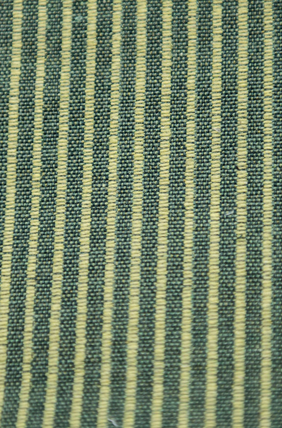"MANU GREEN      65%COTTON/35%POLY  UPHOLSTERY                 54"" WIDE           WASHABLE                                    MADE IN ITALY"