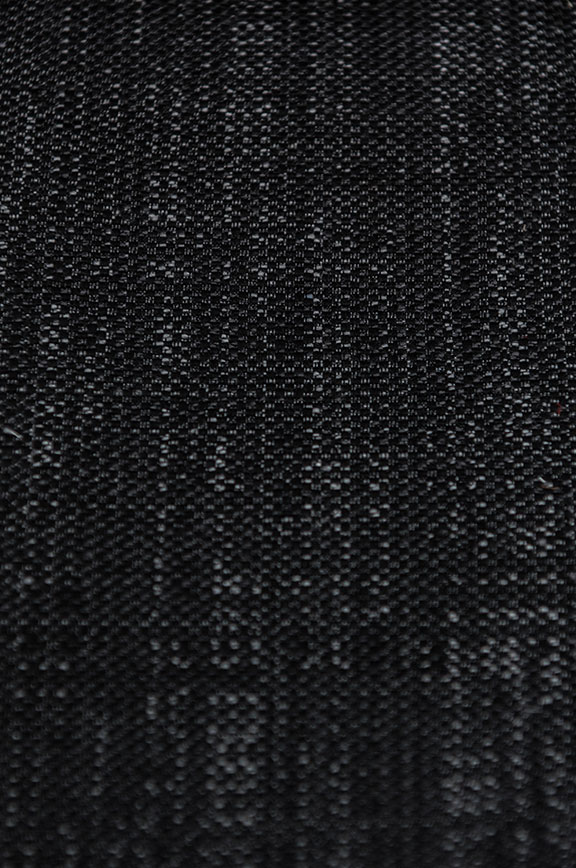 "ROSSINI   2/BLACK                65%COTTON/35%POLY   UPHOLSTERY&                             54""  WIDE   DECORATION                              MADE IN ITALY"