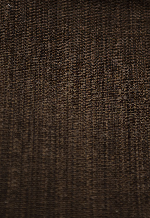 "ROSSINI   8/BROWN                65%COTTON/35%POLY   UPHOLSTERY&                                    54""  WIDE   DECORATION                                    MADE IN ITALY"