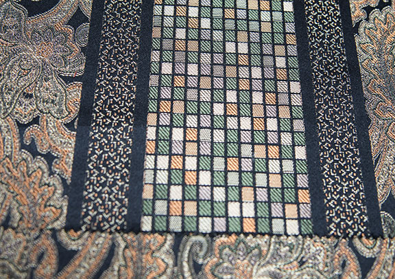 """FLORANCE BLACK   54"""" WIDE                       ITALY"""