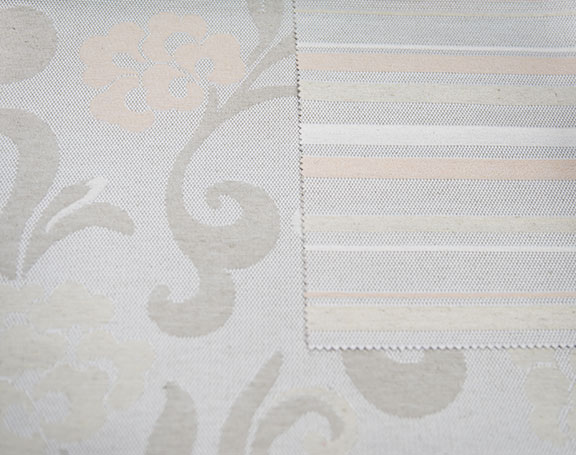 "C2502  IVORY         65% COTTON/35% POLYESTER                                             108"" or 54"" WIDE                                                     ITALY"