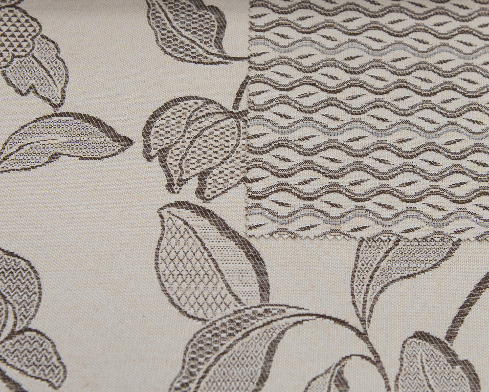"GLAMOUR BEIGE 60%COTTON/40% POLY  108"" WIDE WASHABLE  MADE IN ITALY  TABLECLOTH,BED COVER, CURTAIN ,UPHOLSTERY"