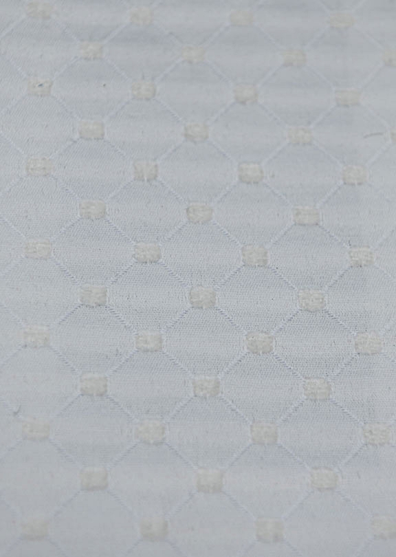 "SALICE 17/WHITE      65%COTTON/35%POLY  UPHOLSTERY                      54"" WIDE                  WASHABLE                                          MADE IN ITALY"