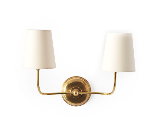 SERENA & LILY // EVERETT TWO ARM SCONCE