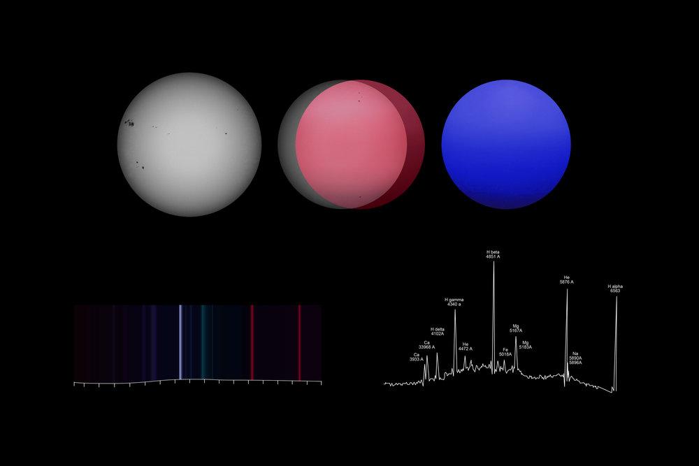 Andrea Galvani © Study on Emission Spectra_2015.jpg