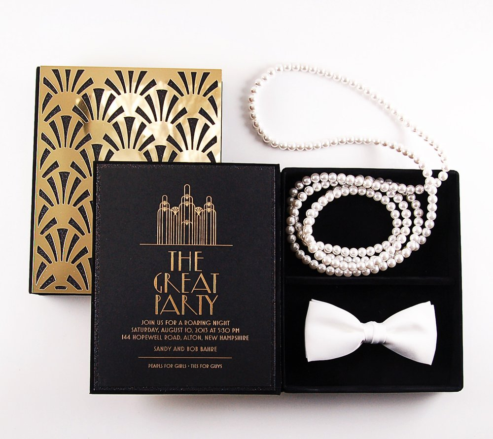 The Great Party  \\ Pearls for girls. Ties for guys.
