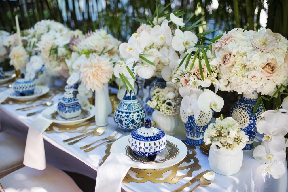 Salone Chroma Placemat  \\Styled by Countdown Events for WedLuxe, Photo by Hong Photography & Cinema