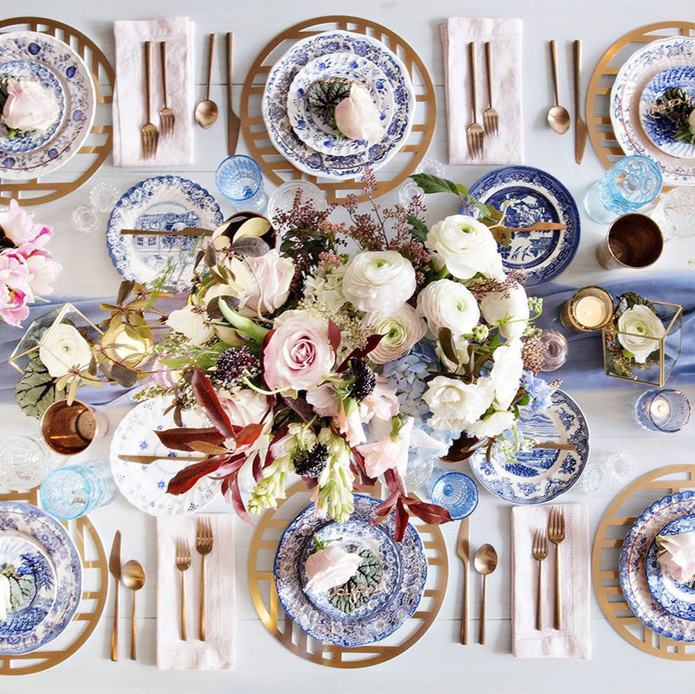 Nexus Chroma Placemat  \\ Styled by Infinite Events and Stone Blossom Floral & Event Design, Photo by Adeline & Grace Photography