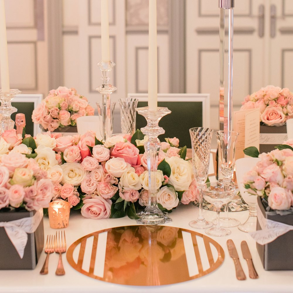 Bond Chroma Placemat  \\ Styled by Bruce Russell and Maison de Fleurs, Photo by Roberta Facchini Photography