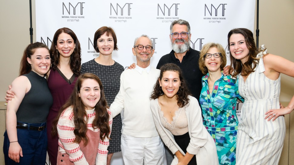 First day of rehearsals at NYTF's Fiddler!