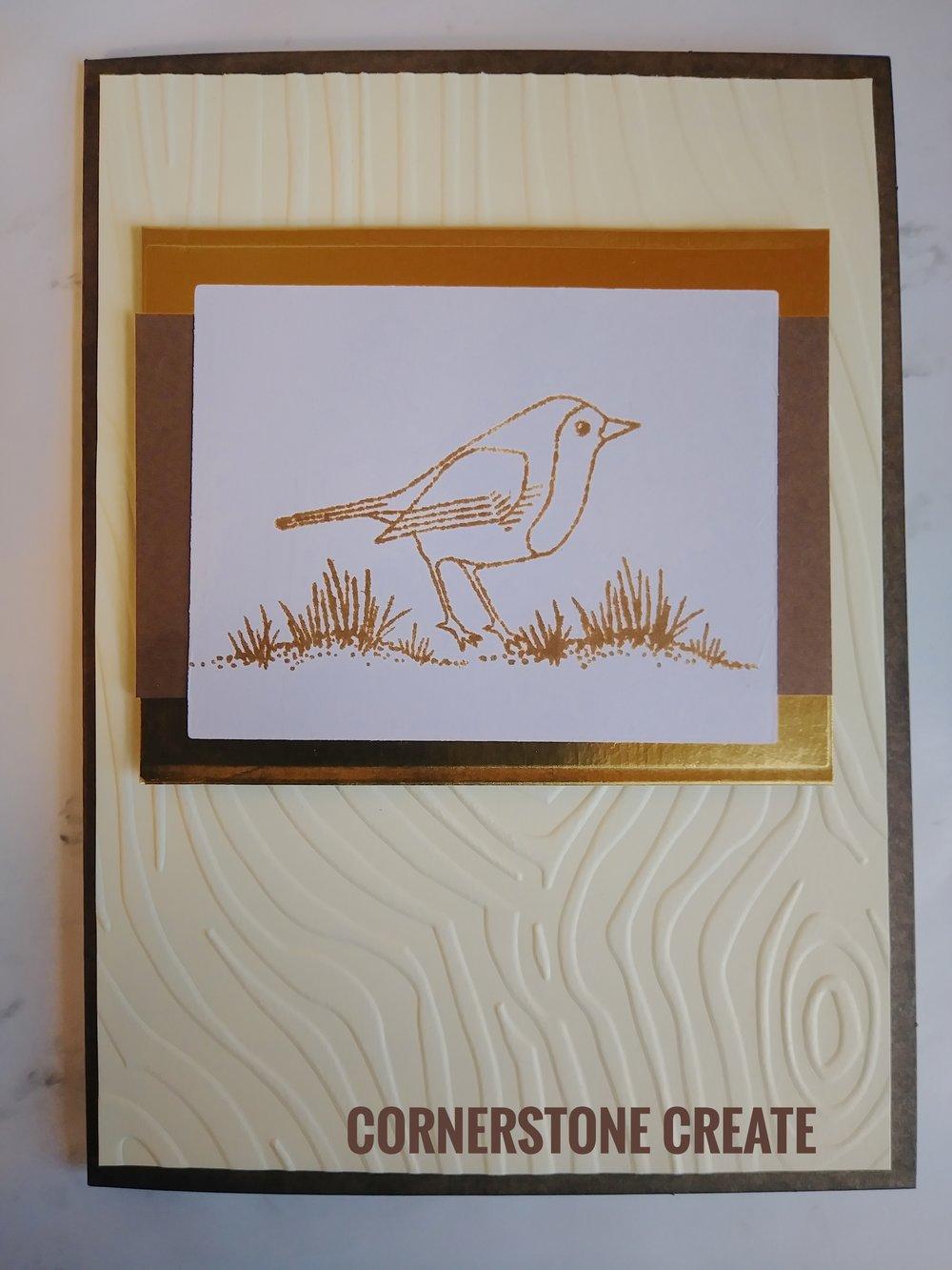 Masculine Spring Card