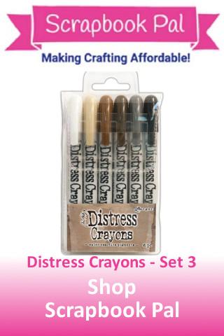 Distress Crayon - Set 3
