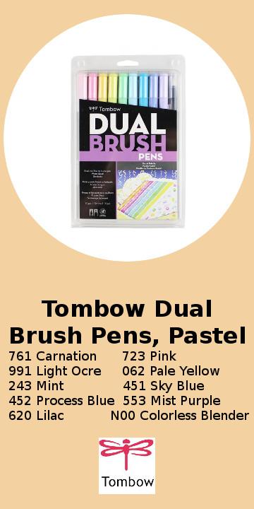 Tombow Dual Brush Pens, Pastel.jpg