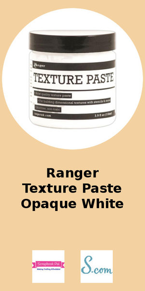 Ranger Opaque White Texture Paste