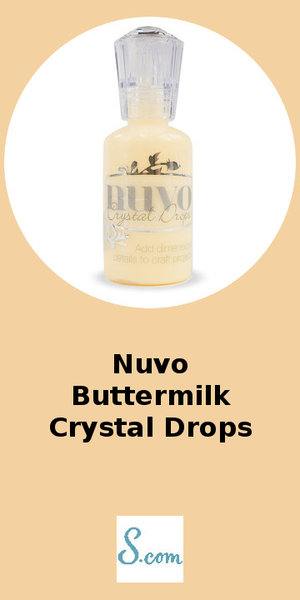 Nuvo Buttermilk Crystal Drops