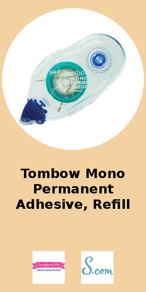 Tombow Mono Permanent Adhesive Refill