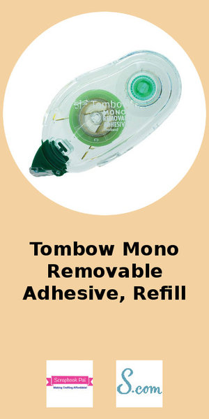 Tombow Mono Removable Adhesive Refill