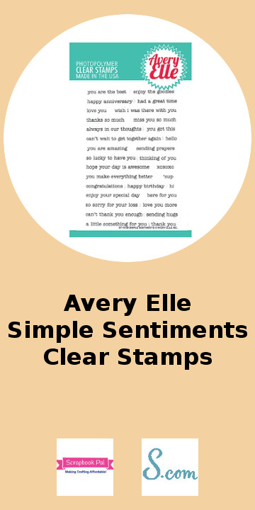 Avery Elle Simple Seniments Clear Stamps.jpg