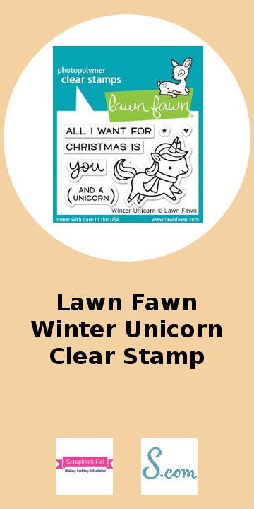 Lawn Fawn Winter Unicorn Clear Stamp.jpg