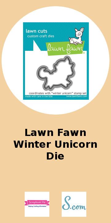 Lawn Fawn Winter Unicorn Die.jpg