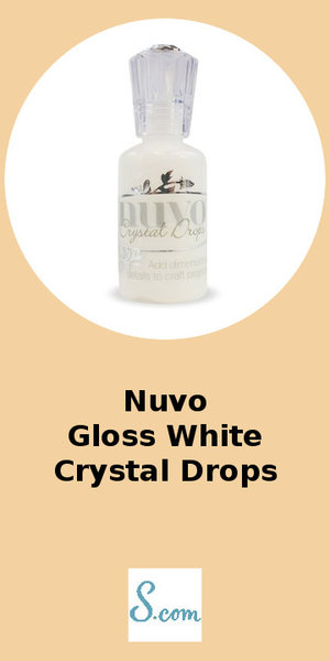 Nuvo Gloss White Crystal Drops