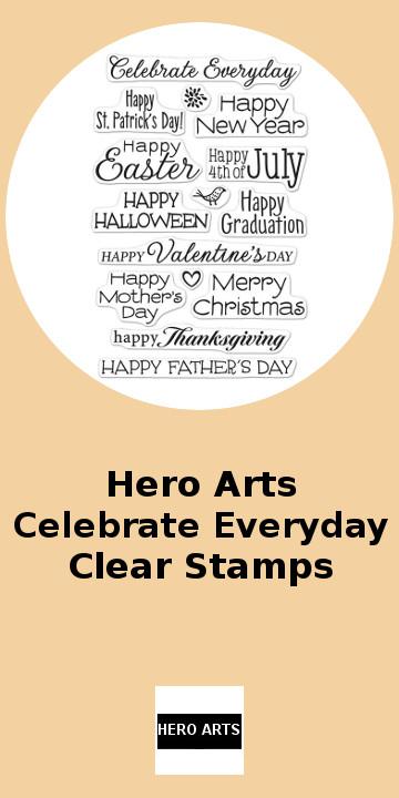 Hero Arts Celebrate Everyday Clear Stamps.jpg