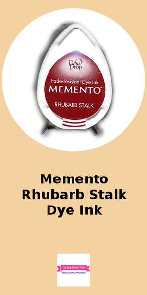 Memento Rhubarb Stalk Ink