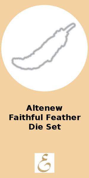 Altenew Faithful Feather Die