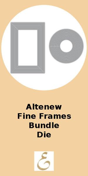 Altenew Fine Frames Die Bundle