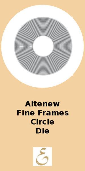 Altenew Fine Frames Circle Die