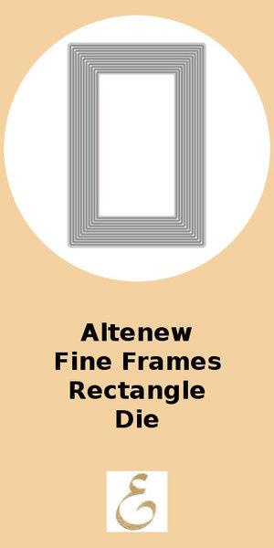 Altenew Fine Frames Rectngle Die