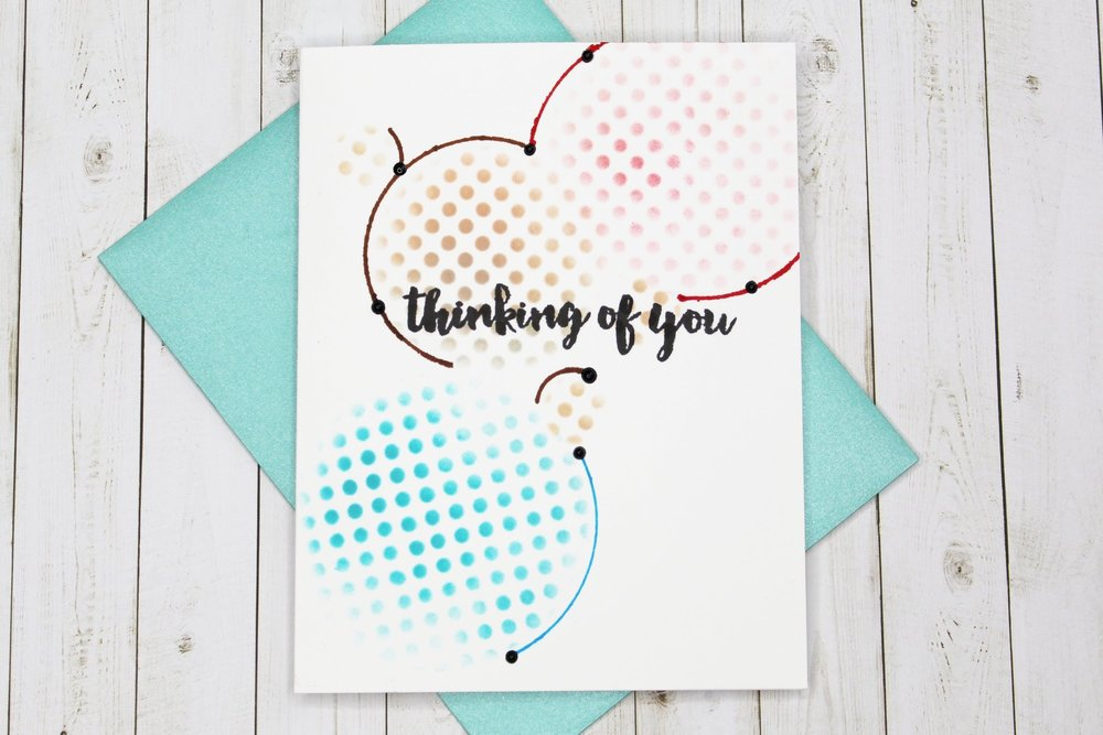 Thinking of You Altenew Card